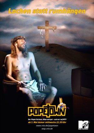 So bewarb MTV damals Popetown