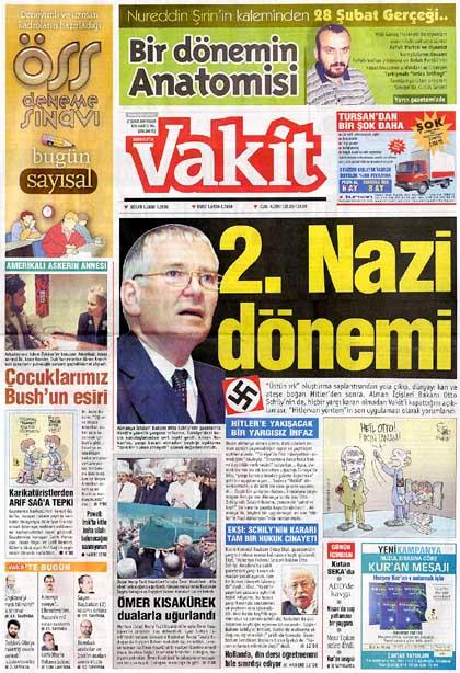 Vakit vom vom 27. Februar 2005